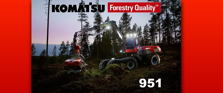komatsu forestry