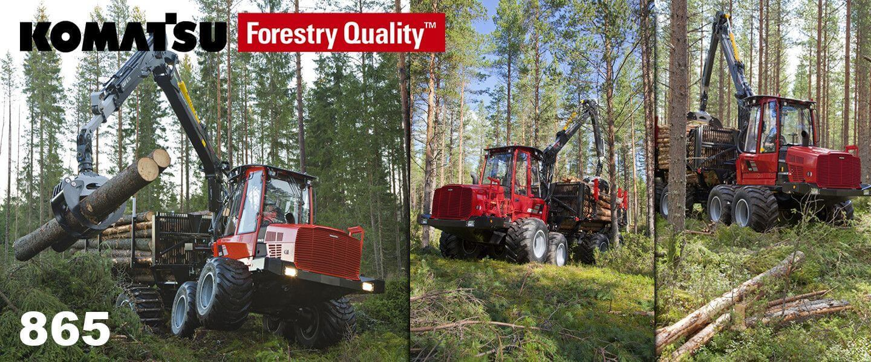 komatsu forestry 865