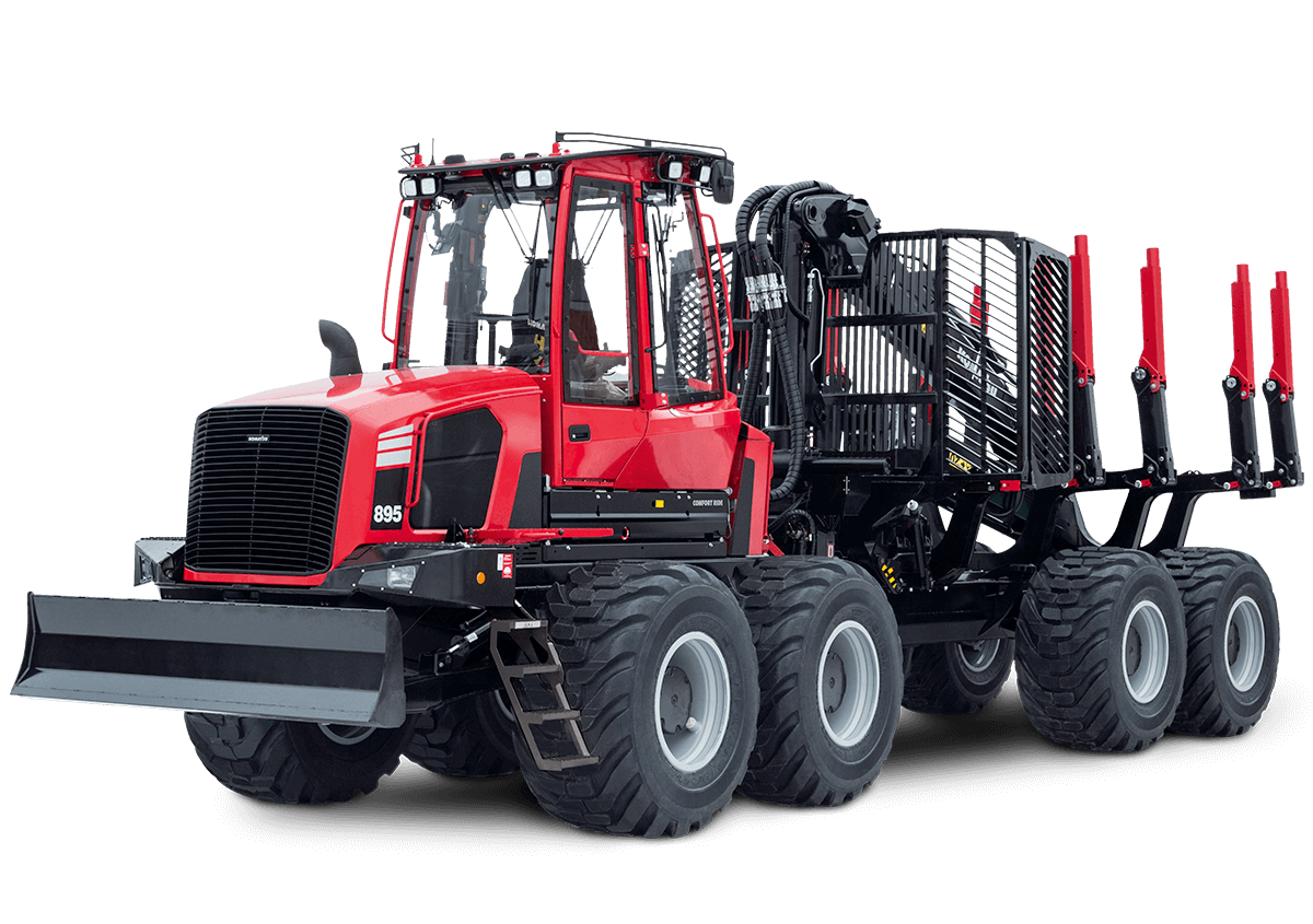 Forwarder Komatsu 895 (2020)