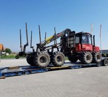 Forwarder Komatsu 840 reconditionat livrat in Vrancea