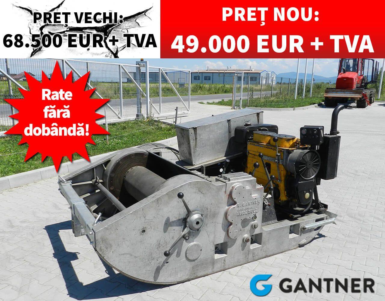 Grup actionare pentru funicular GANTNER USW80