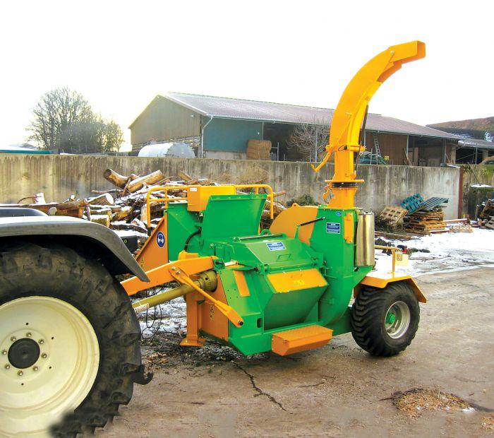 Tocator biomasa HM6-400