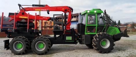 Livrare masina combinata Noe NF210-6R in judetul Bihor