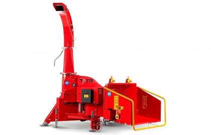 Tocator biomasa cu disc TP270