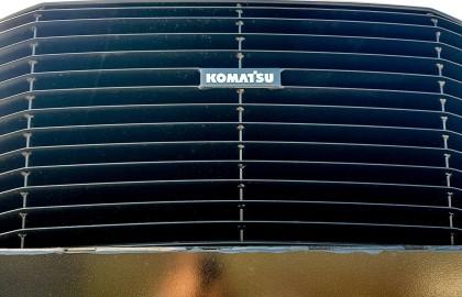 Forwarder Komatsu 855 livrat in judetul Hunedoara