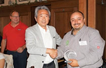 Alser Forest este dealerul anului 2017 Komatsu Forest Europa