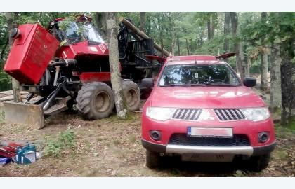 Reparatii utilaje forestiere