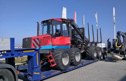 Forwarder VALMET 860.4 reconditionat in Brasov