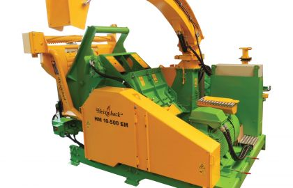 Tocator biomasa HM10-500KEM